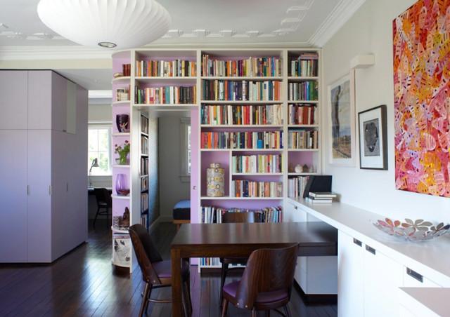 Paddington Apartment contemporary-living-room