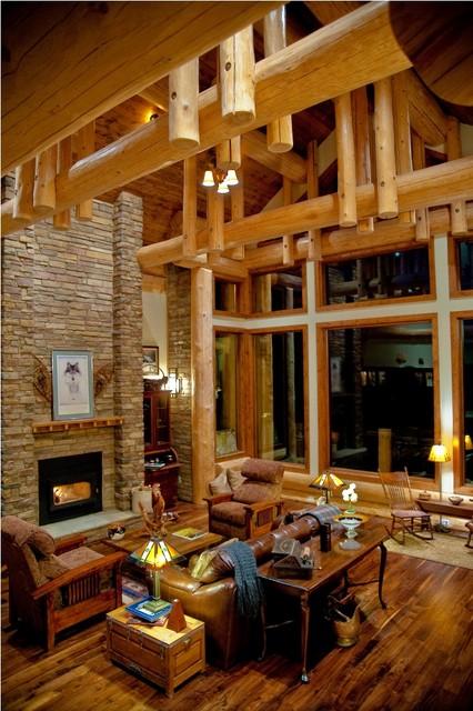 Pagosa Springs traditional-living-room