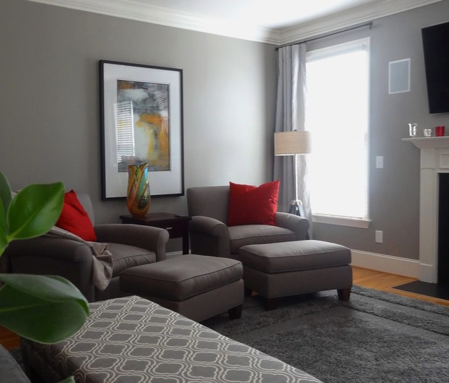 Paint Colors Window Treatments Transitional Living Room Other By Transforming Rooms