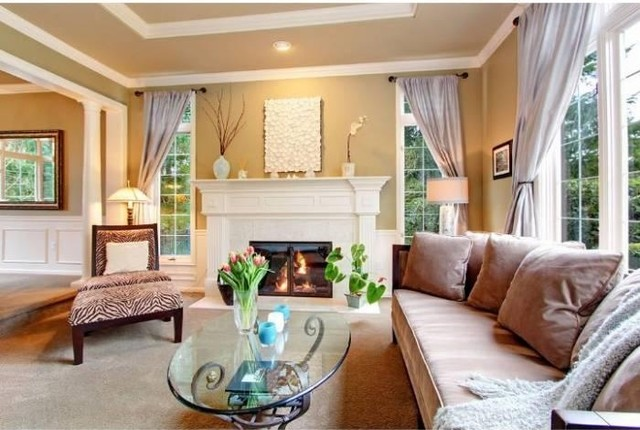 Painted Finishes traditional-living-room