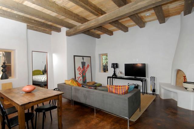 Palace Ave southwestern-living-room