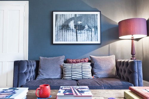 Palace Road con denim drift color azul de dulux diariodesign