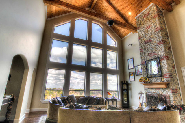 Palestine Palace Traditional Living Room Dallas By Campbell Custom Homes