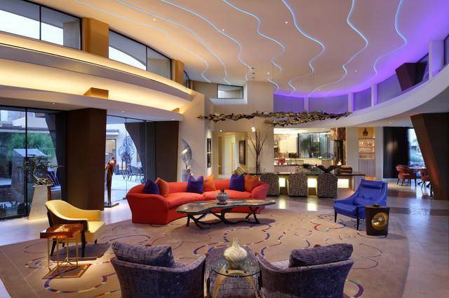 Palm Desert Gathering Room southwestern-living-room