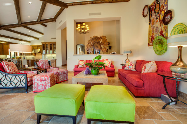 Palm Desert Interior Decorating Mediterranean Living Room