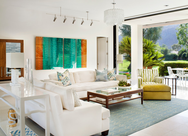 Palm Springs Cottage   Transitional   Living Room   Denver   By Casey St.  John Interiors