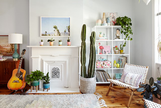Room of the Day: Color, Cactuses Bring California to New Jersey (8 photos)