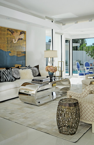 Palm Springs Interior Design Tour Home Eclectic Living Room San Francisco By Sean Gaston