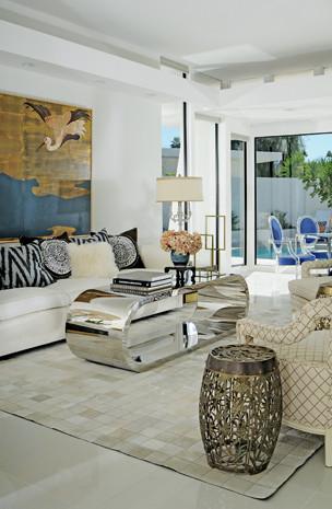 Palm Springs Interior Design Tour Homeeclectic Living Room San Francisco
