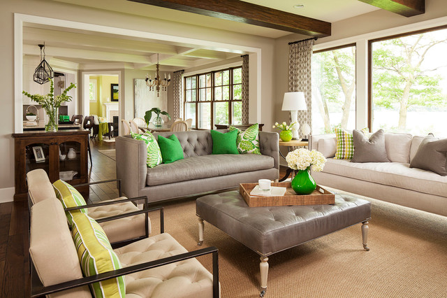 Palmer Point Road Residence 2 Living Room 2 - Transitional ...