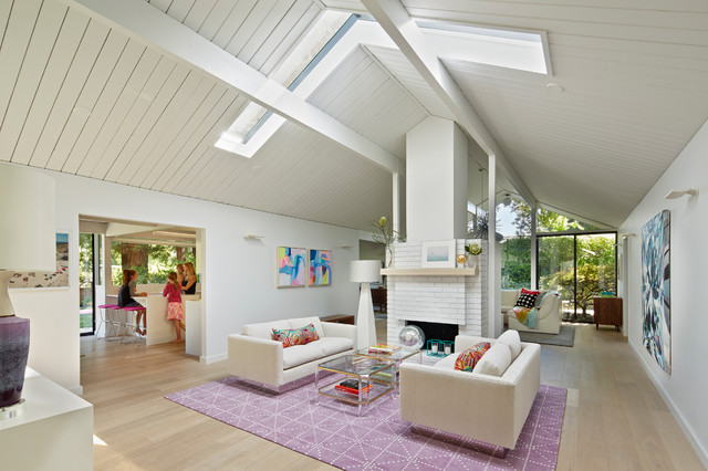 Finlay Eichler Major Remodel midcentury-living-room