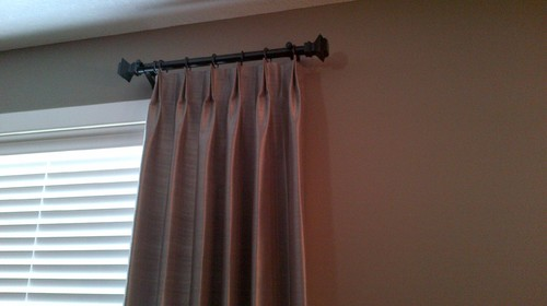 Drapery rod Short curtain rods