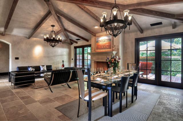 Panos Residence contemporary-living-room