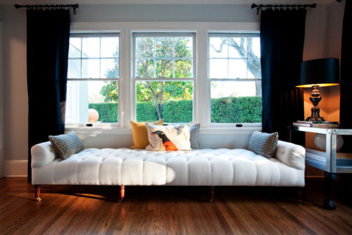 Love This Daybed / Tufted Backless Sofa. Grateful For Source .thx