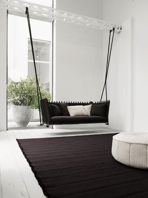 9 indoor swings that won 39 t remind you of tommy lee at all - Indoor hammock hanging ideas ...