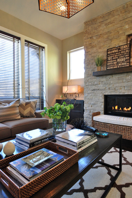 Parade of Homes 2013: Modern Man contemporary-living-room