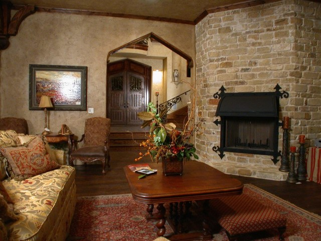 Parade of Homes traditional-living-room