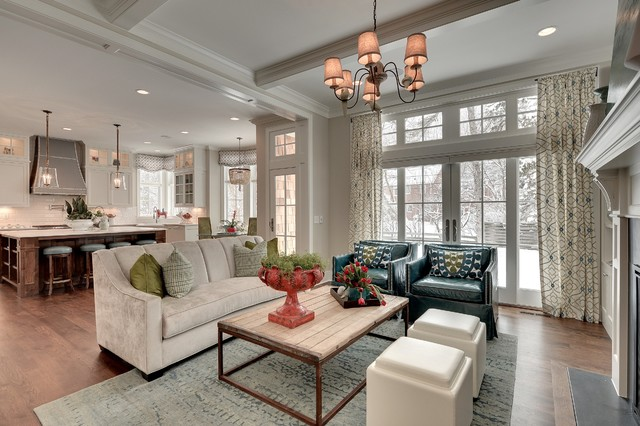Parade Of Homes Spring 2013 Traditional Living Room Minneapolis By Great Neighborhood Homes
