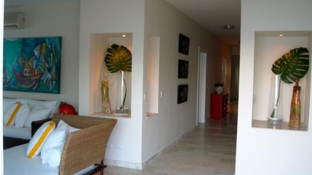 Paraiso tropical, Cabarete Dominican Republic tropical-living-room