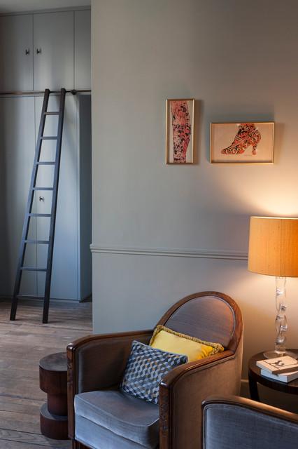 Paris apartment eclettico soggiorno londra di for Soggiorno a londra