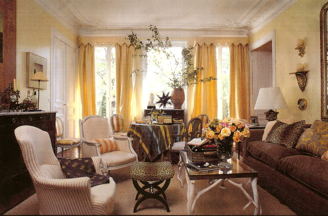 Paris apartments traditional living room other by for Paris living room ideas