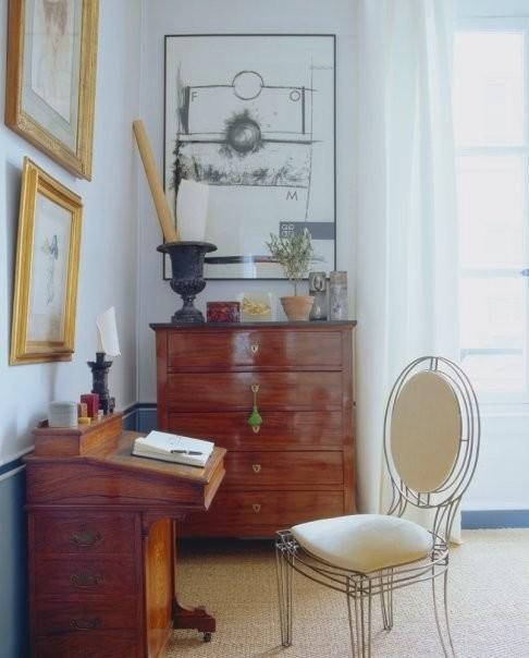Paris Apt. eclectic-living-room