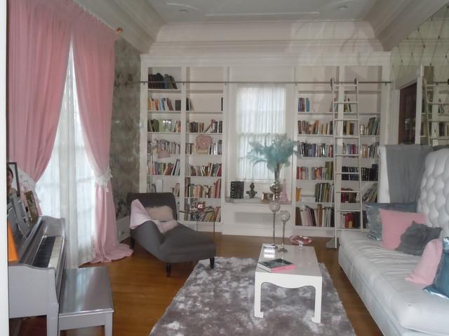 Paris Chic Living Room Eclectic Living Room Atlanta By Cynthia Stipe