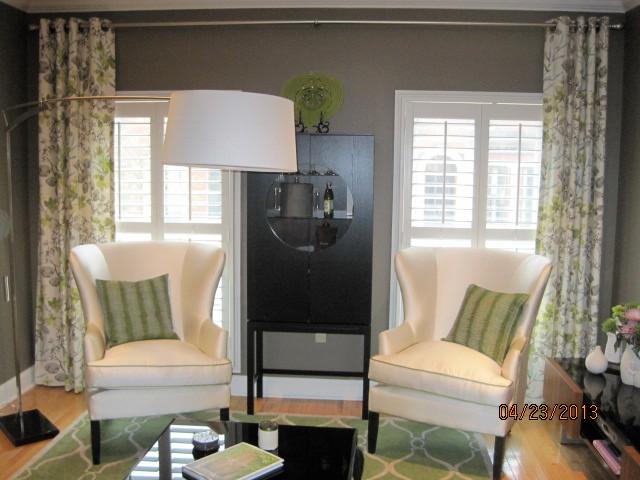Parisian Chic Condo in Fairmont area contemporary-living-room
