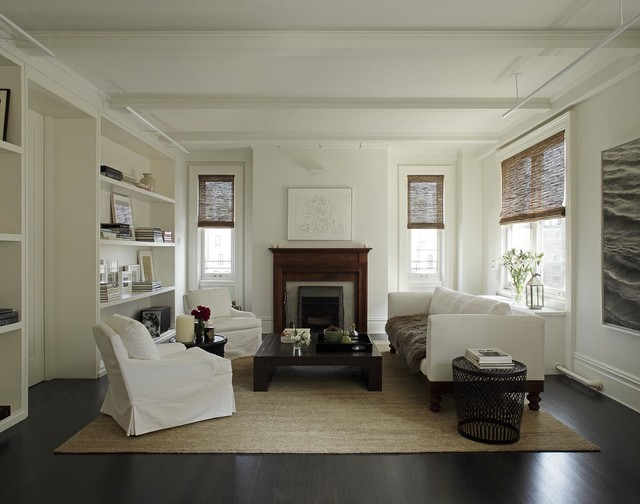 PARK AVENUE DUPLEX Modern Living Room