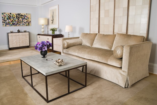 Park Avenue contemporary-living-room