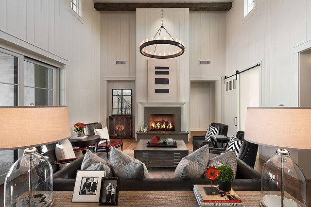 Park Place at Silverleaf traditional living room