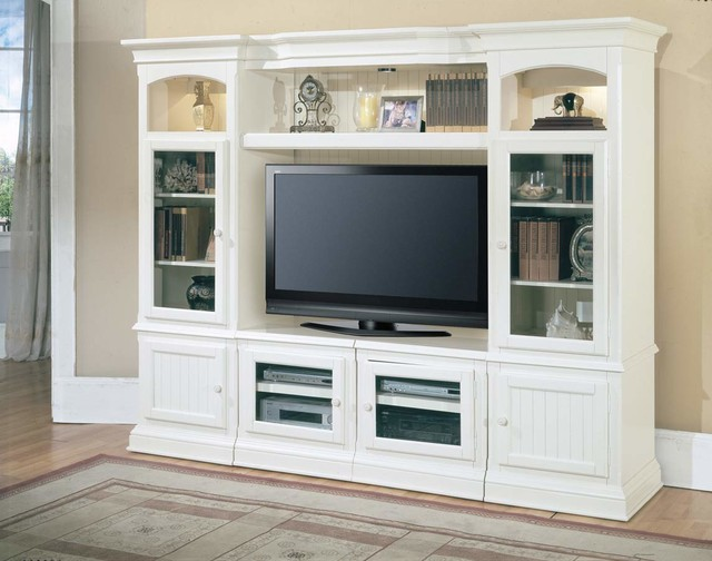 Parker House Hartford 4 Piece Wall Unit - Beach Style - Living ...