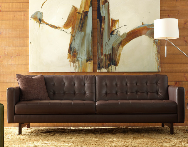 Parker Sofa By American Leather Contemporary Living Room Chicago By Eurofurniture