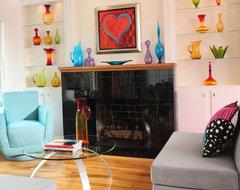 Parkwood Estates eclectic-living-room
