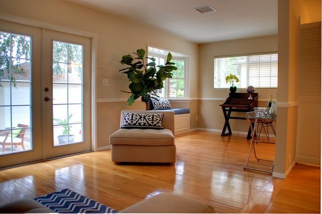 Pasadena contemporary casual living area for The family room pasadena