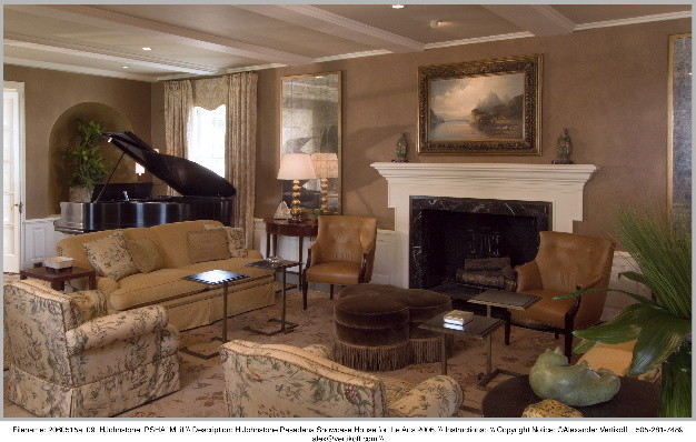 Pasadena showcase house traditional living room los for The family room pasadena