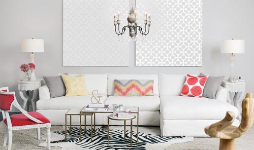 Pastel Palette - Andre Slipcover Sofa