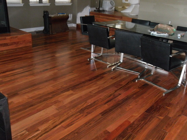 Patagonian rosewood flooring for Hardwood flooring deals