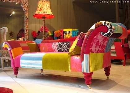 Patchwork sofa - Sofas tapizados en tela ...