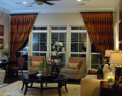 Patel Residence Living Room traditional-living-room