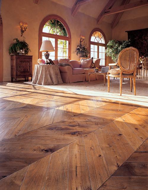 Patina Old World Flooring Traditional Living Room