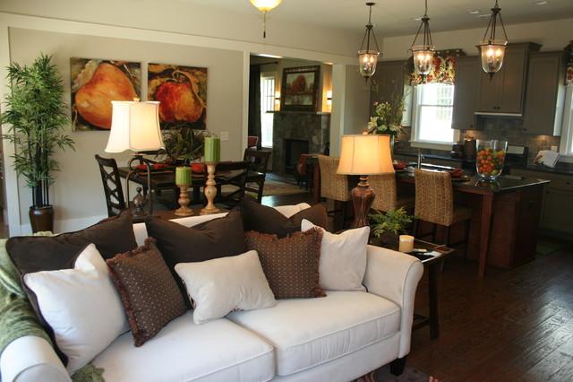 Patrick Square Beaufort Model contemporary-living-room