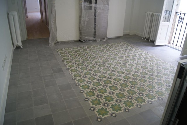Patterned Cement Tiles