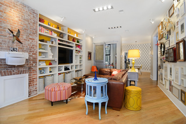 PAVONIA AVENUE eclectic-living-room