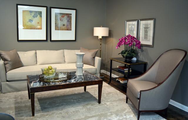 Peaceful living transitional living room san for Peaceful living room ideas