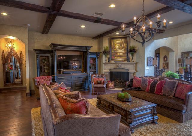 Pearl Villa mediterranean-living-room