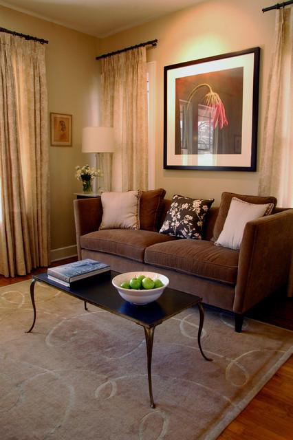Pecan Grove eclectic-living-room