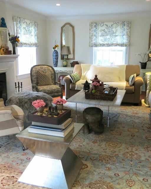 Pelham Home eclectic-living-room
