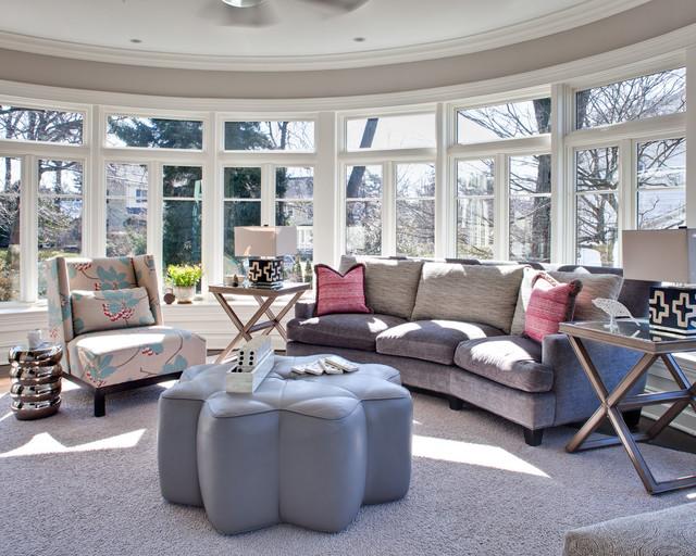 Pelham Renovation contemporary-living-room