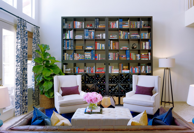 PELICAN POINT RESIDENCE eclectic-living-room